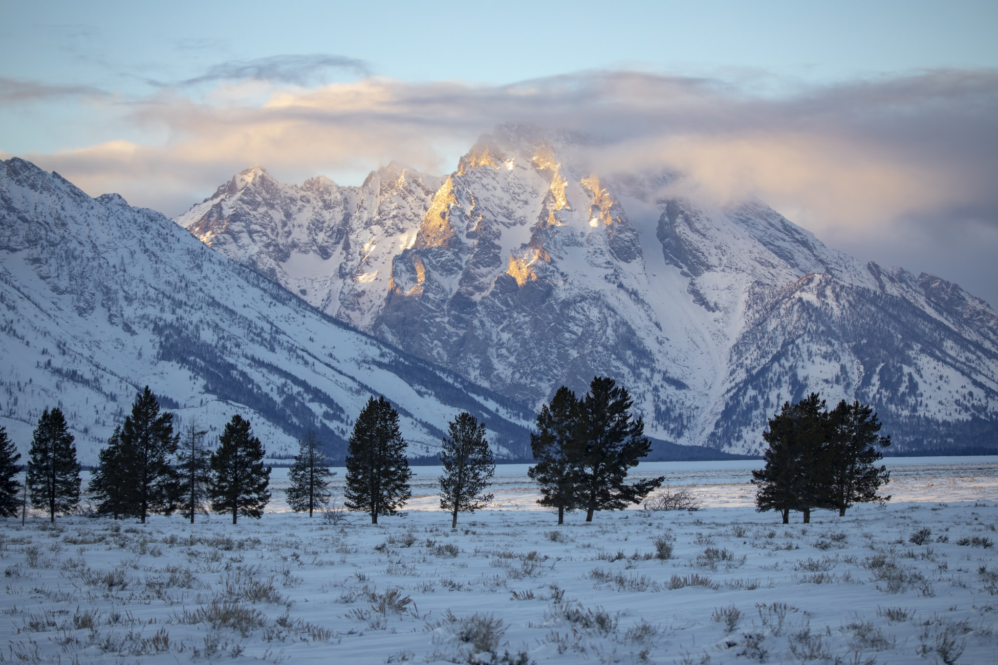 Trekking invernal en Yellowstone y Grand Teton